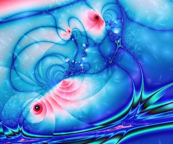 Digital Art - Fish Pond by Anastasiya Malakhova