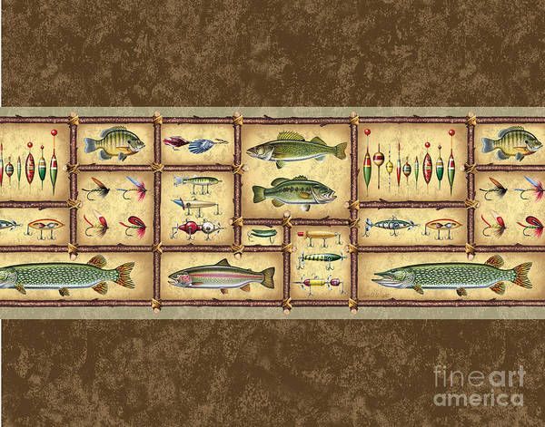 Painting - Fish Sticks Sham Pillow by JQ Licensing