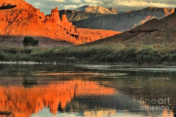 Photograph - Fisher Towers In The Colorado by Adam Jewell
