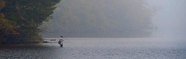 Photograph - Fisherman At Dawn by Sandy Scharmer