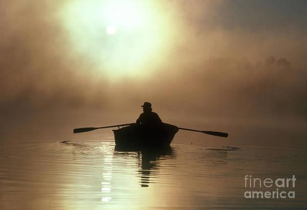 Photograph - Fisherman At Sunrise by Jim Corwin