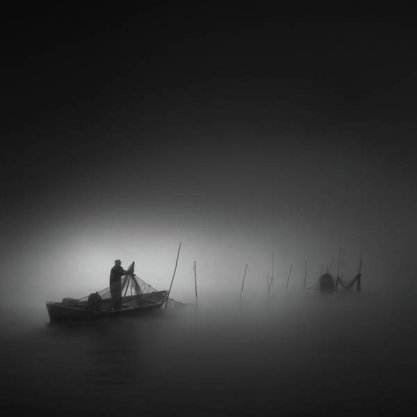 Wall Art - Photograph - Fisherman by Christoph Hessel