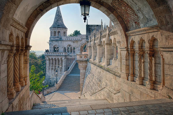 Photograph - Fisherman's Bastion Budapest by Joan Carroll