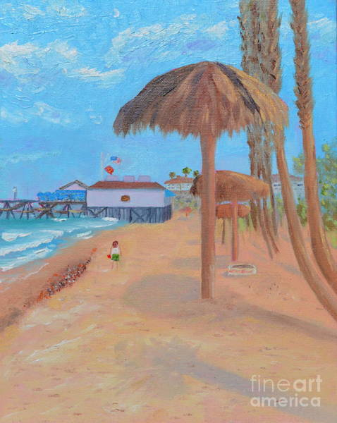 Painting - Fisherman's Resturant by Mary Scott