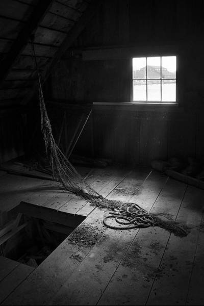 Photograph - Fishermans Shack - 19th Century Maritime Shanty by Gary Heller