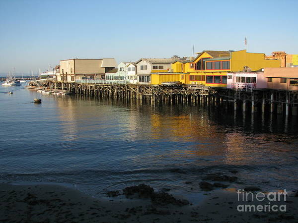 Photograph - Fisherman's Wharf by James B Toy