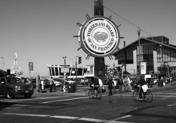 Photograph - Fishermans Wharf San Francisco California by Aidan Moran