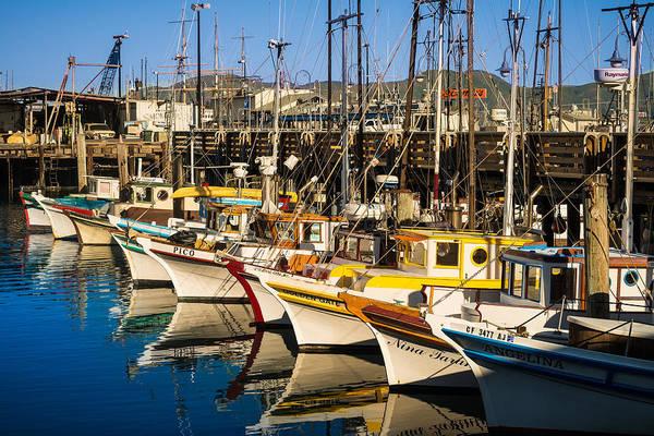 Wall Art - Photograph - Fishermans Wharf San Francisco by Steve Gadomski