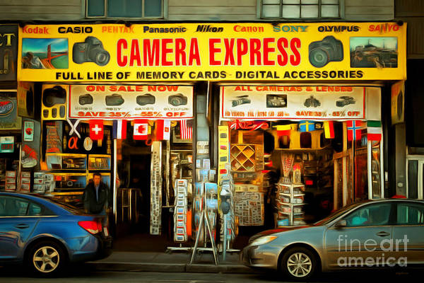 Photograph - Fishermans Wharf Tourist Shop 7d14096brun by Wingsdomain Art and Photography
