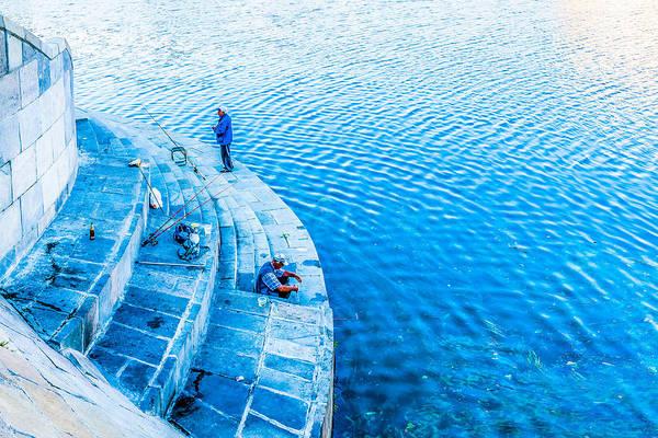 Angling Art Photograph - Fishermen by Alexander Senin