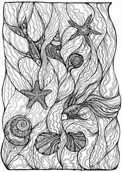Oksana Khorkhordina - Fishes And Shells