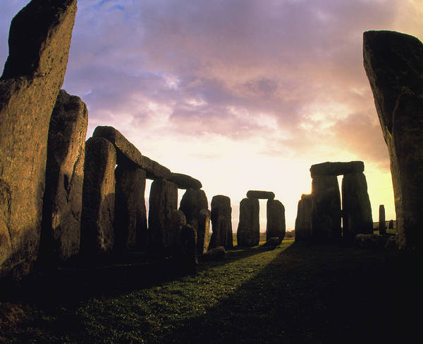 Fish Eye Lens Photograph - Fisheye Lens View Of Stonehenge by Chris Knapton/science Photo Library