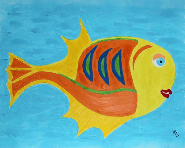 Fishie Art Print