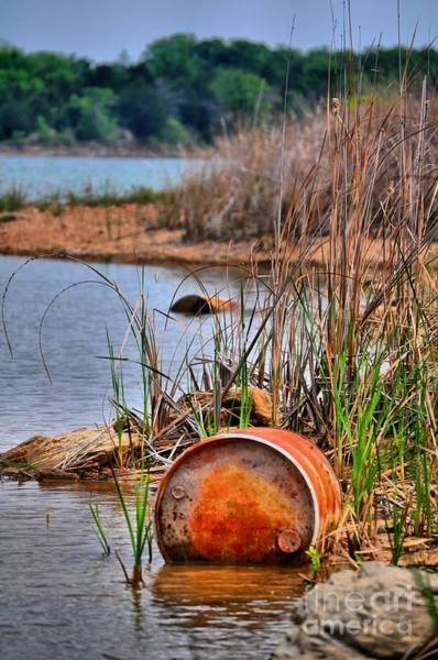 Ardmore Photograph - Fishing Barrels by Kristen OBrain