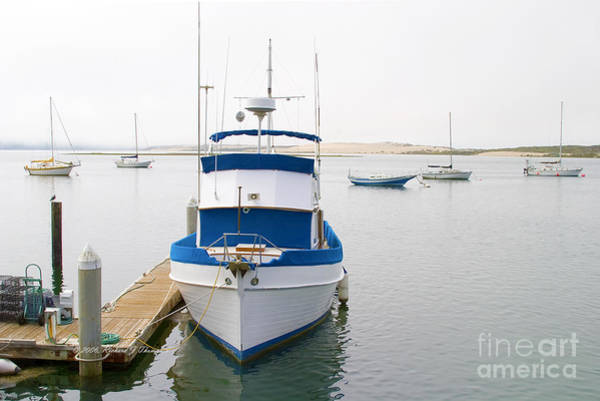 Photograph - Fishing Boat At Dock by Richard J Thompson