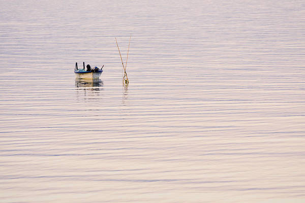 Photograph - Fishing Boat At Dusk by Priya Ghose