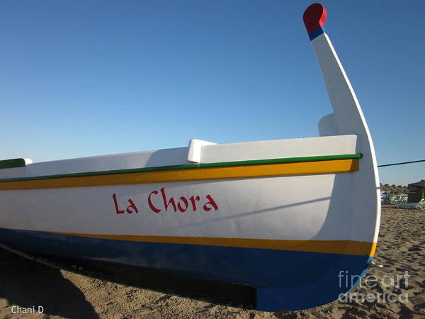 Photograph - Fishing Boat by Chani Demuijlder