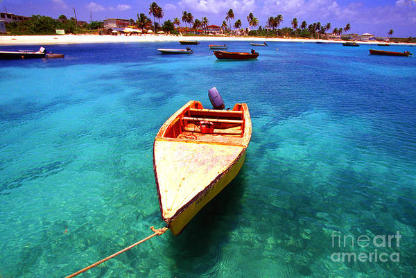 Photograph - Fishing Boat Island Harbour Anguilla by Thomas R Fletcher