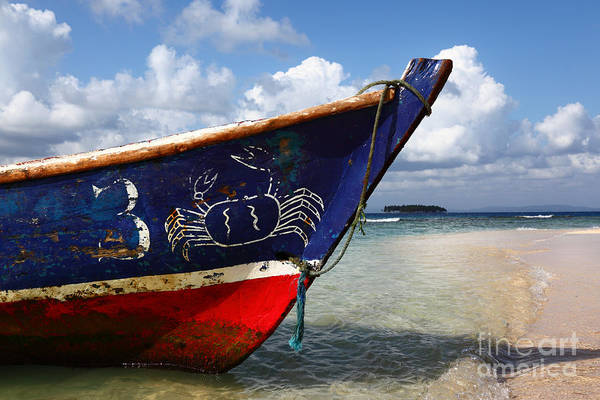 Photograph - Fishing Boat Panama by James Brunker