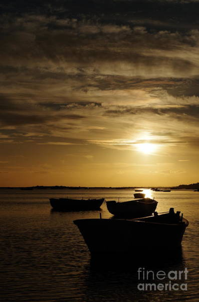 Fishing Boats In Cacela Velha Art Print