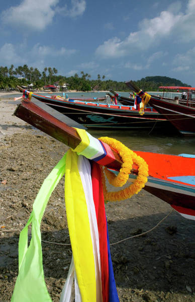 Thailand Photograph - Fishing Boats In Gulf Of Thailand by Danita Delimont
