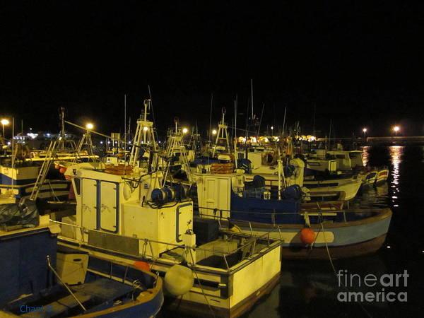 Photograph - Fishing Boats In Tarifa by Chani Demuijlder