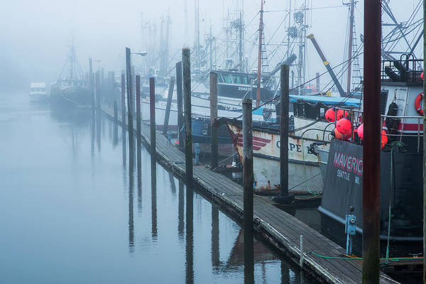 Warrenton Wall Art - Photograph - Fishing Boats Moored At The Dock by Robert L. Potts