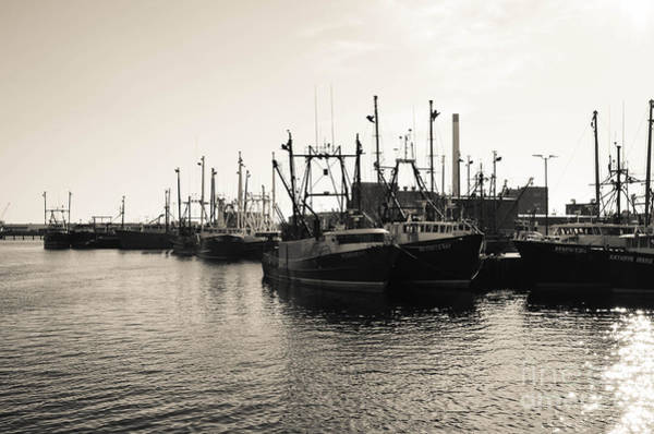 Photograph - Fishing Boats - New Bedford Pier 3 by Andrea Anderegg