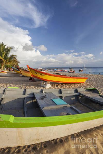 Photograph - Fishing Boats On Crash Boat Beach by Bryan Mullennix