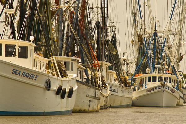 Photograph - Fishing Boats by Patrick M Lynch