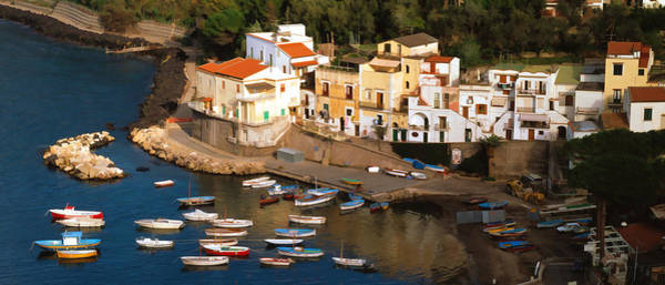Photograph - Fishing Boats Southern Italy by Cliff Wassmann