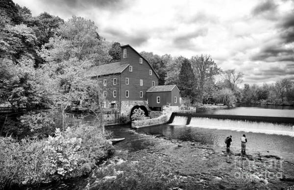 Photograph - Fishing Buddy At The Old Red Mill by John Rizzuto