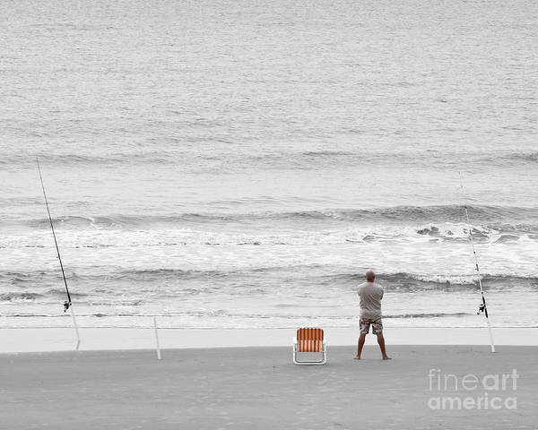 Wall Art - Photograph - Fishing Cherry Grove Sc by Roger Bailey