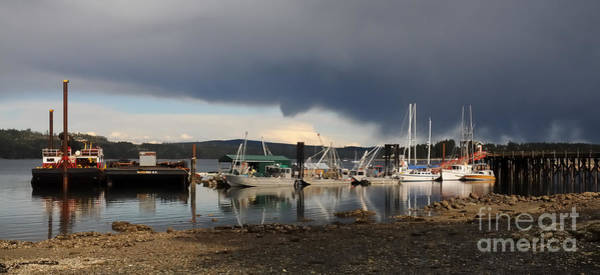Fanny Bay Photograph - Fanny Bay Fishing Dock by Vivian Christopher