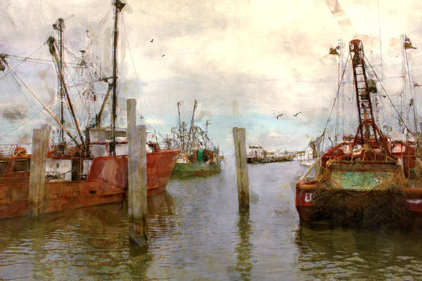 Fishing Fleet Art Print