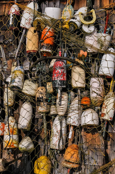 Photograph - Fishing Gear Cape Neddick Maine by T-S Fine Art Landscape Photography