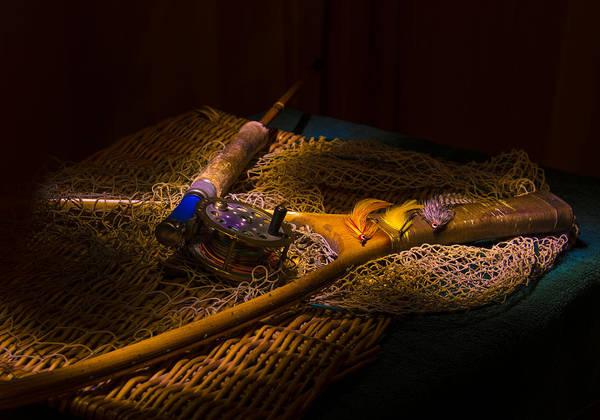 Blye Photograph - Fishing Gear by Kenneth Blye
