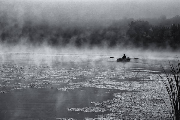 Photograph - Fishing In The Mist by Tom Singleton