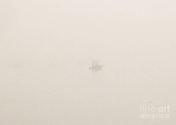 Wall Art - Photograph - Fishing In The Ultimate Fog by John Telfer