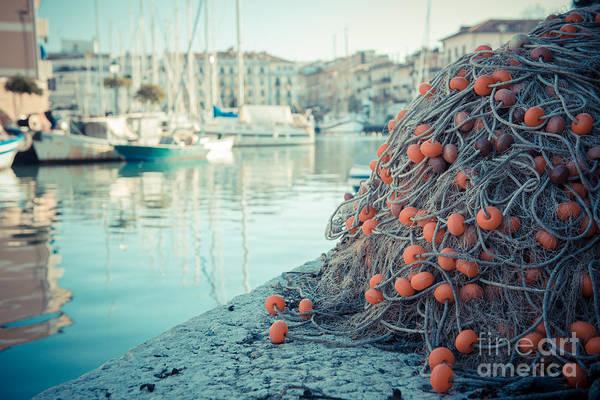 Photograph - Fishing Net by Hannes Cmarits