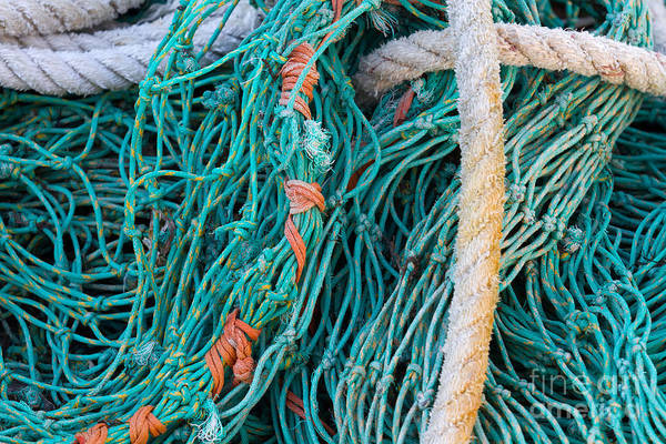 Wall Art - Photograph - Fishing Nets And Rope by Katherine Gendreau