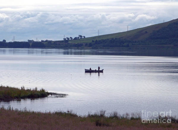 Photograph - Fishing On Loch Leven by Phil Banks
