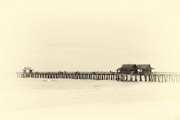 Photograph - Fishing Pier In Naples Florida by Les Palenik