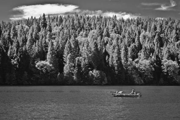 Photograph - Fishing Sugar Pine Reservoir by Sherri Meyer