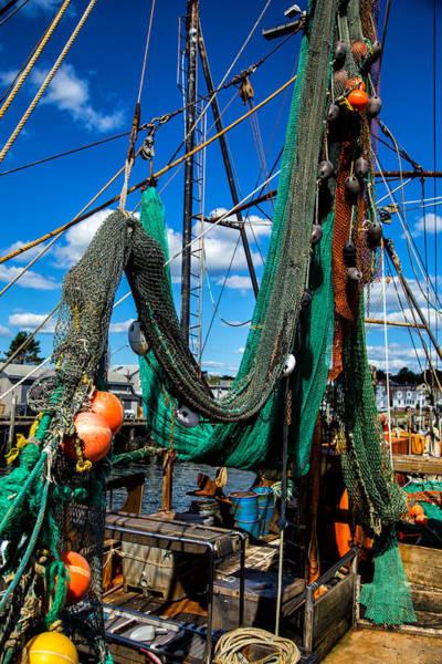 Stonington Photograph - Fishing Vessel by Karol Livote