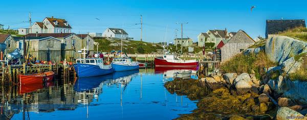 Halifax Nova Scotia Digital Art - Fishing Village by Ken Morris