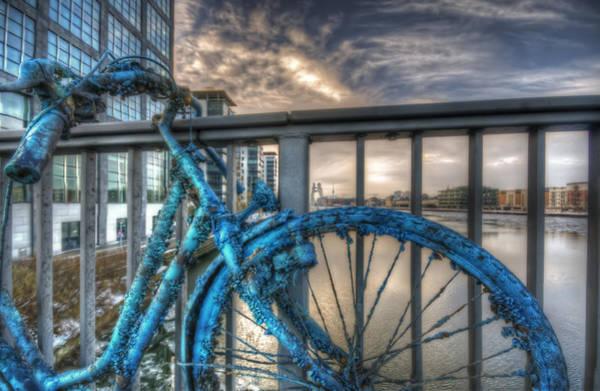 Business Cycles Wall Art - Digital Art - Fishy Bike by Nathan Wright