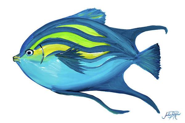 Coastal Digital Art - Fishy II by Julie Derice