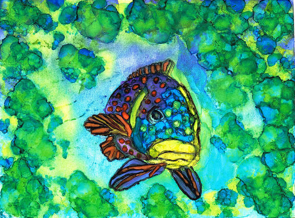 Painting - Fishy by Kelly Dallas
