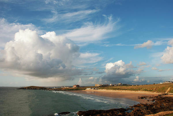 Waters Edge Wall Art - Photograph - Fistral Beach, Newquay by Lorraine Barnard